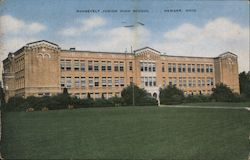 Roosevelt Junior HIgh School Postcard