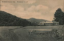 Woodstock Country Club Postcard