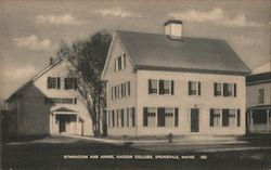 Gymnasium and Annex, Nasson College Postcard