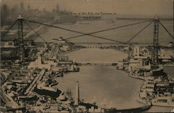 "Aerial View of Sky Ride and Panorama of ""A Century of Progress"" 1933 Postcard"