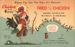 Beverly's Chicken Postcard