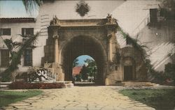 Santa Barbara County Court House Postcard