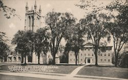Chapel and Griffen Hall, Williams College Postcard