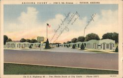 Arizona Court Postcard