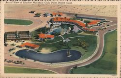 Aerial View of Shadow Mountain Club Postcard