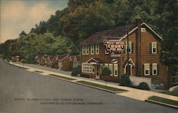 Rocky Waters Court and Dining Room, Gatlinburg-in-the-Smokies, Tennessee Postcard