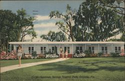 Sanlando Springs Tropical Park Postcard