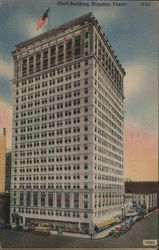 Shell Building Postcard
