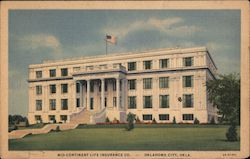 Mid-Continent Life Insurance Co. Postcard