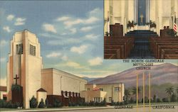 The Tower Of Light - North Glendale Methodist Church Postcard