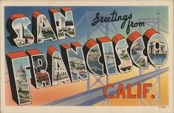 Greetings from San Francisco, Calif.