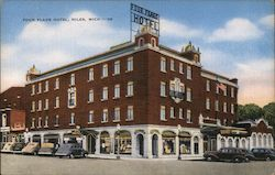 Four Flags Hotel Postcard