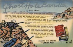 Ghost Hole Bandits by Oren Arnold Postcard