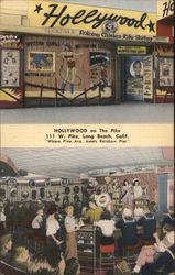 Hollywood on the Pike Postcard
