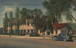 Beautiful Southern Pacific Depot Postcard