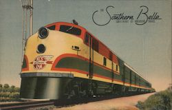 The Southern Belle, Sweetheart of American Trains Postcard