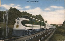 The Southerner - Southern Railway System Postcard