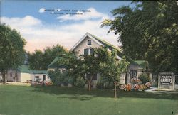 Koebel's Rooms and Cabins Postcard