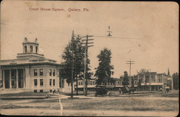 Court House Square Quincy Florida