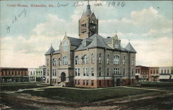 Adair County Court House Kirksville Missouri