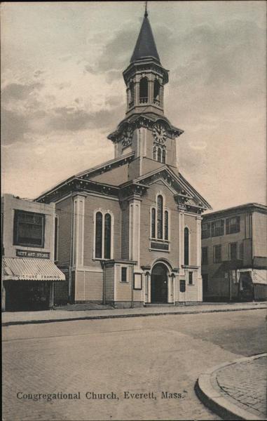 Congregational Church Everett Massachusetts