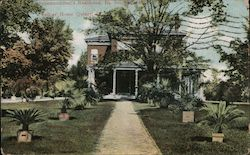 Superintendent's Residence, Illinois Soldiers' and Sailor's Home Postcard