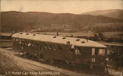 McKeen Motor Car, Southern Pacific Railway Postcard
