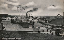 Solvay Process Works Postcard