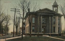 Oswego County Court House and Jail Postcard