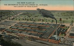 the New Plant of The Brunswick-Balke-Collender Co Postcard