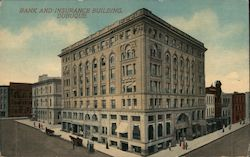 Bank and Insurance Building Postcard