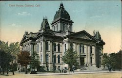 Alameda County Court House Postcard