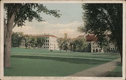 Stimson and Boardman Hall, Cornell University Postcard