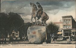 Rough Rider Monument Postcard