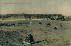 Parade Grounds, Presidio Postcard