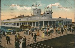 The New Steeple Chase Pier, the Funny Place Postcard