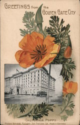 Greetings from the Golden Gate City - California Poppy, Fairmont Hotel
