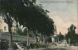 Church Street, Looking North Postcard