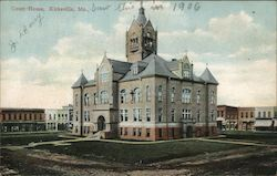 Adair County Court House Postcard