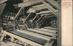 Empire Mine, Interior Mill Postcard