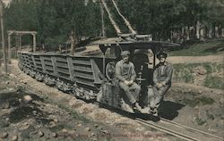 North Star Mine Co., Electric Railroad Postcard