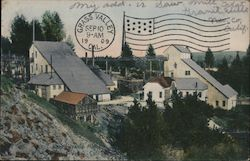 Pennsylvania Mine, Grass Valley, Cal. Postcard