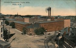 Cocheco Department, Pacific Mills Postcard