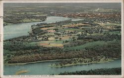 Holyoke and Connecticut River Postcard