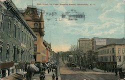State Street, the Upper Shopping District Postcard
