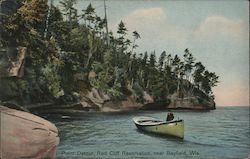 Point Detour, Red Cliff Reservation Postcard