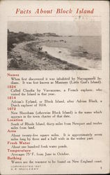Facts about Block Island