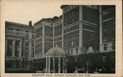 Hartley Hall, Columbia University Postcard