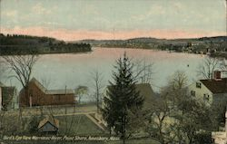Bird's Eye View Merrimac River, Point Shore Postcard