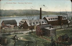 Merrimac Hat Factory Postcard